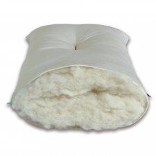 Guanciale in pura lana vergine