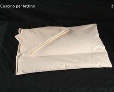 Guanciale Lettino in pula di Farro 50x35cm