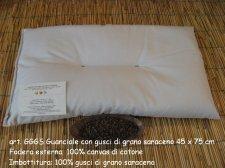 Guanciale in pula di grano saraceno 45x75