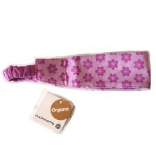 Hair band Anemone in organic cotton