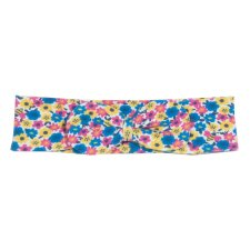 Bee ditsy bowband in organic cotton