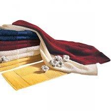 Hand towel in organic cotton