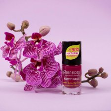 Happy Nails natural polish - wild orchid