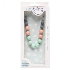 Harrow silicone teething necklace