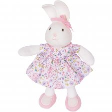 Havah the Pink Bunny in organic cotton and natural rubber