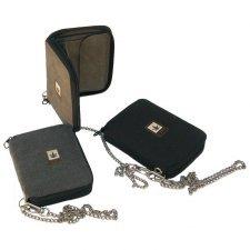 Hemp purse with zip