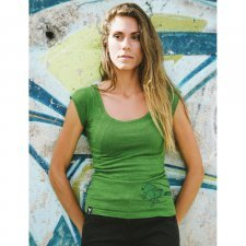 Hemp Women Tee Jungle Bird