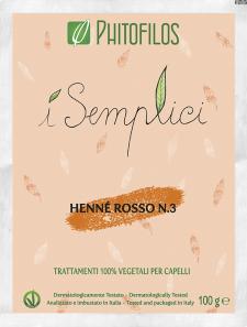 Henné Rosso n°3  Rame Intenso Phitofilos
