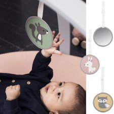 Holger baby mirror in organic cotton