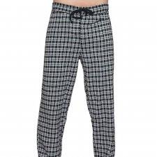 Homewear Grigio Pantaloni pigiama uomo in 100% cotone biologico