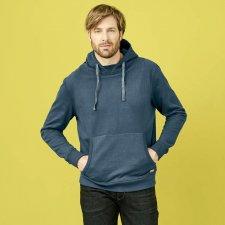 Men's FILIPPO hooded sweatshirt in organic cotton