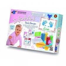 Infant art body stamper