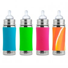 Infant bottle Pure in stainless steel 325 ml