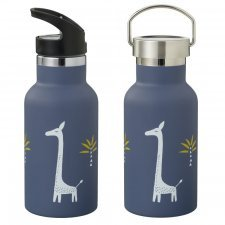 Insulated bottle in steel with 2 lids Fresk