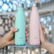 Insulated Bottle Pastel 750 ml in stainless steel