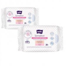 Intimate wet wipes Sensitive in 100% cotton Bella