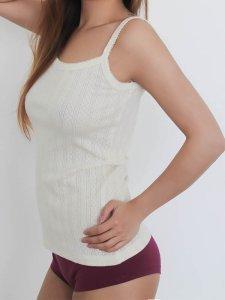 Jacquard Top in organic cotton