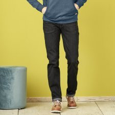 Jeans Bosco black washed in organic cotton