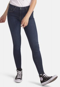 Jeans Cody Skinny Dark vita media cotone biologico