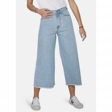 Jeans Crop wide leg Light Wash 100% organic cotton