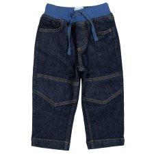 Jeans con elastico in vita per bambini e ragazzi in Cotone Biologico