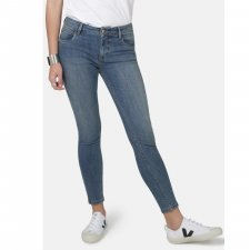 Jeans Monroe Super Skinny Mid Wash in organic cotton