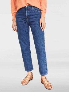 Jeans dritti da donna in cotone biologico