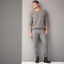 Jeans uomo Bosco in cotone biologico Grey washed