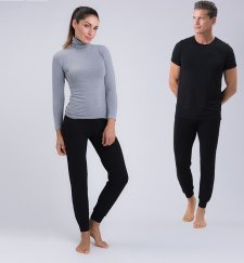 Joggings unisex in fibra vegetale di faggio
