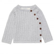 Jumper baby Picasso grey in organic cotton Sense Organics