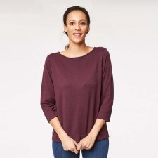 Jeanette organic wool and cotton jumper