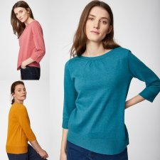Jumper Lula in wool and organic cotton
