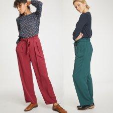 Kalmara Paper Bag Waist Modal Trousers