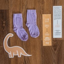 Kids Eucalyptus Fiber Socks pack of 2