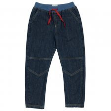 Kids pull on denim in organic cotton