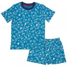 Kids pyjama Dyno-sphere in organic cotton