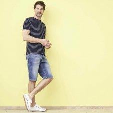 Ikarus Bermuda Jeans in organic cotton