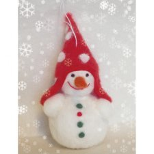 Kit felt Snow Man