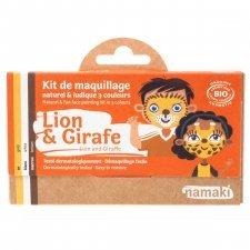 Kit make up bio 3 colori Leone e Giraffa