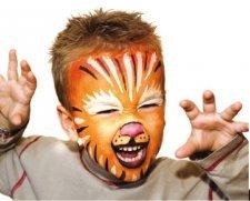 Kit make up bio 3 colori Zebra e Tigre