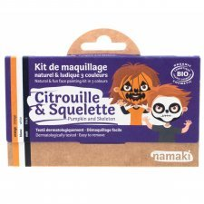 Kit organic make up Pumpkin and Skull