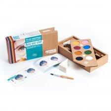 Kit organic make up Rainbow