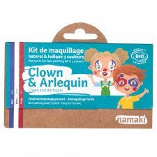 Kit organic make up Clown and Harlequin