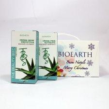 Kit Regalo Crema Mani + Crema Piedi Aloe Bioearth