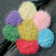 Kit felt Flowers Pins