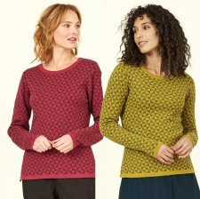 Kite Knit Merino Wool and fairtrade cotton Jumper