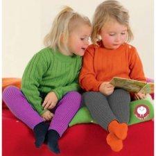Knitted leggings Disana in organic merinos wool