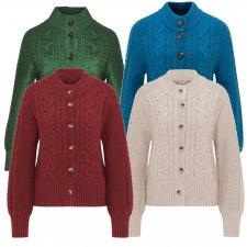 KOLFINNA CARDIGAN for women in pure organic cotton