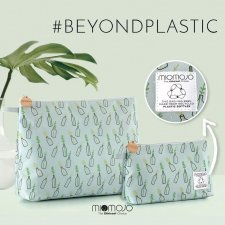 La Simpatica vegan cosmetic bag in recycled Pet