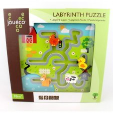 Labyrinth puzzle in wood Farm